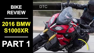 6. 2016 BMW S 1000 XR Review Part 1 - Fittings and Specifications