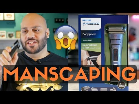 How To Manscape: Manscaping Do's and Don'ts   Norelco Bodygroom 7100 Review