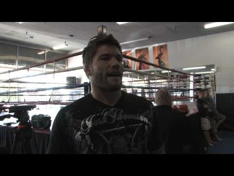 Josh Thomson vs Pat Healy Prefight Interview