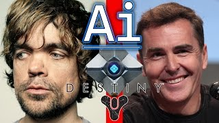Why Destiny Dev Dropped Peter Dinklage for Nolan North:http://www.gamespot.com/articles/why-destiny-dev-dropped-peter-dinklage-for-nolan-n/1100-6429543/Follow Mike on Twitter:https://twitter.com/MikeColangeloFacebook Page:https://www.facebook.com/friendlyai1