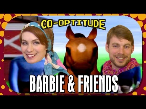 Ashley - Co-Optitude is all about Felicia Day and Ryon Day hilariously playing through the co-op retro games their parents never let them have. This week's games are Barbie Race & Ride and Mary-Kate...