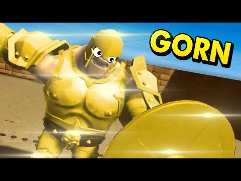 HEAVILY ARMORED GLADIATORS IN VIRTUAL REALITY! (GORN VR HTC Vive Funny Gameplay)