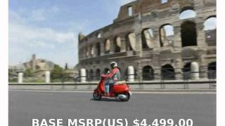 2. 2012 Vespa S 150 i.e. - Specification & Specs