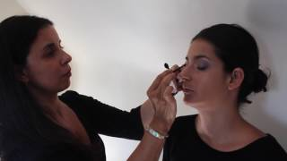 Flavia Smokey Eye DIY Make Up Tutorial (NARS Comestics)