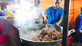 Video Jakarta Street Food - HUGE Indonesian Lamb Fried Rice for 1000 People/ Nasi Goreng Kambing / Biryani MP3, 3GP, MP4, WEBM, AVI, FLV Maret 2019