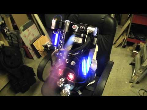 This hobbyist built a Proton Pack, but souped it up. It's insane.