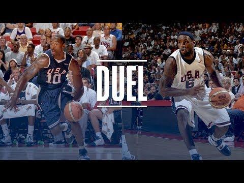 Video: LeBron James & Kobe Bryant EPIC USA Basketball Duel | 2007 Team USA Scrimmage