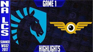 TL vs FLY Highlights Game 1 - NA LCS week 6 Day 2 Summer 2017 - Team Liquid vs FlyQuest G1NALCS teams: Dignitas, Fly Quest, TSM, EnVyUs, Phoenix 1, CLG, Liquid, Echo Fox, Immortals, Cloud9NA LCS Spring 2017 playlist: https://www.youtube.com/watch?v=6Nat_jBUPyE&list=PLJwuLHutaYuLhpm8EMj2AyWxhS4xEFKn4☻All games spoiler free with stats and infographs at Stage: https://stage.gg/► All other previous tournaments: http://bit.ly/1WBqwLzKazaLoLLCShighlights -  bringing you fast highlights of LCS, LCK, LPL and LMS League of Legends Esports Matches every day♡♡♡♡♡♡♡♡♡♡♡♡♡♡♡♡♡♡♡♡♡♡♡♡♡♡♡♡♡♡✉ Social media below - Follow for regular updatesⓕⓑ  KazaGamez  ►http://on.fb.me/1N5j0EHⓖ+                            ►http://bit.ly/1Bpjrbaⓣⓦⓘⓣⓣⓔⓡ      ►Twitter      -  http://bit.ly/1BkVAtGⓣⓦⓘⓣⓒⓗ          ►Livestream: http://bit.ly/1BpjzYdⓓⓞⓝⓐⓣⓔ          ►Paypal: http://bit.ly/1cBU6JnSubscribe: http://bit.ly/1oZa2wJ