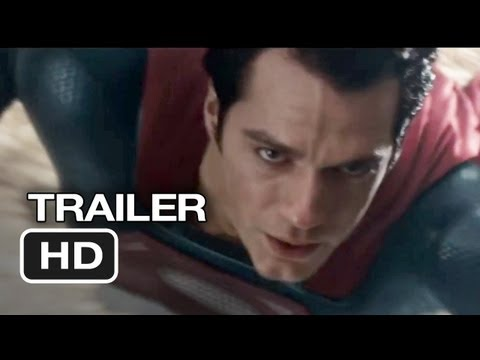 Man of Steel TRAILER 3 (2013) - Russell Crowe, Henry Cavill Movie HD Video