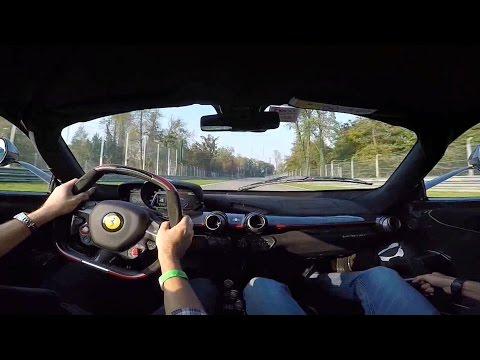 ferrari laferrari test drive mugello: sound e giro di pista!