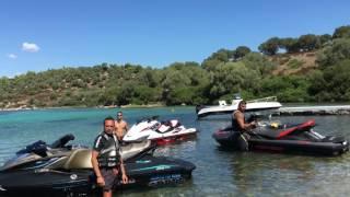 7. Sea Doo GTX 300 -2016 VS YAMAHA FZR 270-2016 VS Sea Doo GTX Is 2??-2013-GoPro 1080-60 HD-Greece !!!!