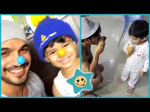 Arjun Bijlani Joker Avatar For His Adorable Son |