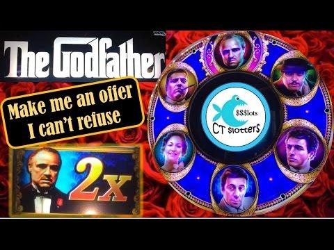 The Godfather Slot Machine - WMS - Big Wins, Multiple Bonuses