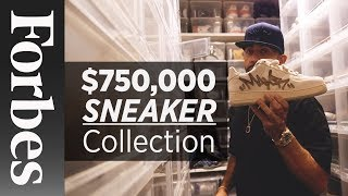 The $750,000 Sneaker Collection - YouTube