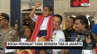 Video Joni, Bocah Pemanjat Tiang Bendera Tiba di Jakarta MP3, 3GP, MP4, WEBM, AVI, FLV Agustus 2018