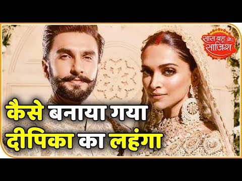 Video Watch How Deepika Padukone's Wedding 'Lehnga' Was Made   Saas Bahu aur Saazish download in MP3, 3GP, MP4, WEBM, AVI, FLV January 2017