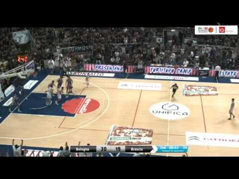 Fortitudo, gli highlights del match Gara 4 contro Brescia