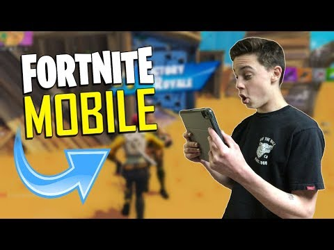 FAST MOBILE BUILDER On IOS / 1435+ Wins / Fortnite Mobile + Tips & Tricks!