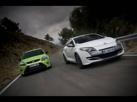 Renaultsport Megane 250 v Ford Focus RS by autocar.co.uk