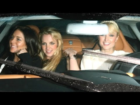 Lindsay Lohan, Britney Spears, And Paris Hilton Party The Night Away [2006]