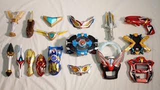 Video ウルトラマンルーブ 記念 歴代平成ウルトラマンに変身してみた 変身アイテム集 All Ultraman Henshin Transformations 2018 Ultraman R/B MP3, 3GP, MP4, WEBM, AVI, FLV Maret 2019