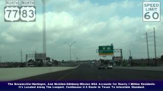 Brownsville (TX) United States  city photos gallery : US77&83 Brownsville And Harlingen, TX