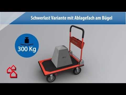 BAUHAUS TV - Produktvideo: Plattformwagen (TÜV geprüft)