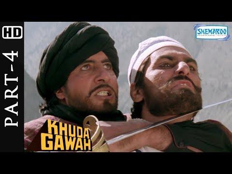 Amitabh Bachchan kills Habibhula scene from Khuda Gawah - Bollywood Action Movie