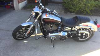 10. 2014 Dyna Low Rider Startup and Exhaust