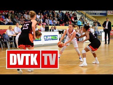 Európa Kupa F-csoport 1. forduló. Aluinvent DVTK - Carolo Basket 58-68