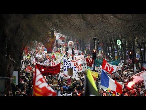 Γαλλία: Τέταρτη ημέρα εθνικής κινητοποίησης