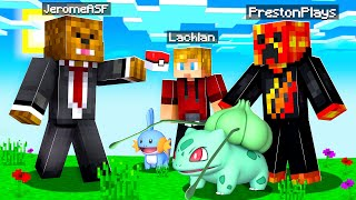 CHALLENGING The Pack In Minecraft Pixelmon Island UHC #1 | JeromeASF