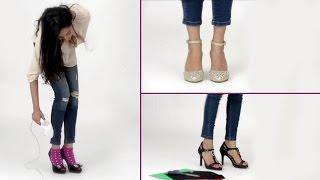 Video 6 Tricks To Make Your High Heels Pain Free - Shoe Bite Hacks - Glamrs MP3, 3GP, MP4, WEBM, AVI, FLV Juni 2018