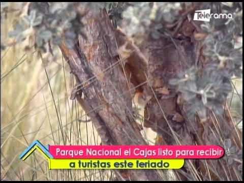 Parque Nacional el Cajas listo para recibir a turistas este feriado