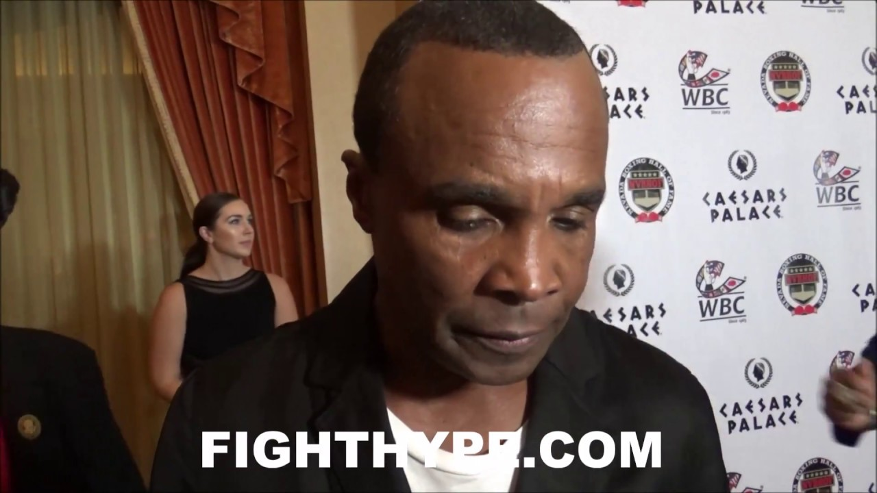 (PRICELESS!) SUGAR RAY LEONARD