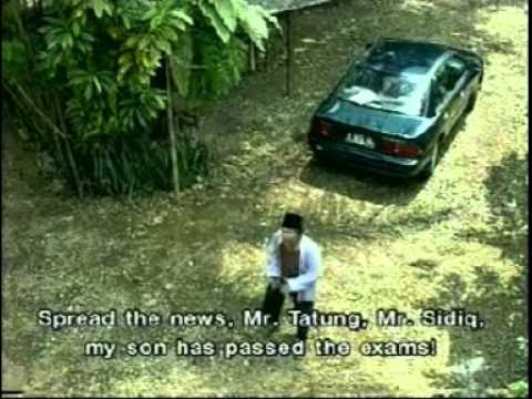 Si Doel Anak Sekolahan - Doel passes his exams [English subs]