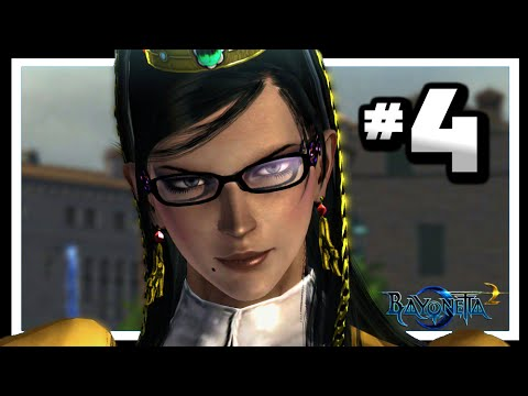 Bayonetta 2 - Gameplay Walkthrough Part 4 - Chapter 2: A Remembrance Of Time [HD]