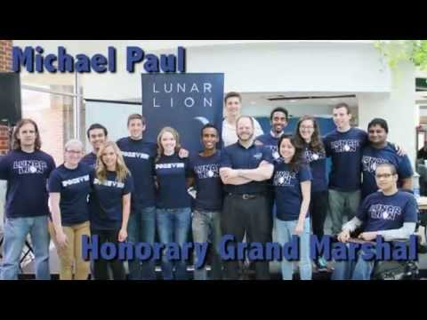 Honorary Grand Marshal Michael Paul