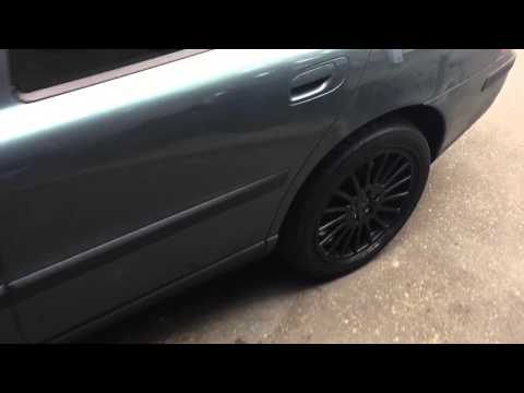 Volvo s60 exhaust tips фотография