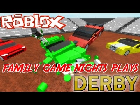 Family Game Nights Plays: Roblox Derby (PC)
