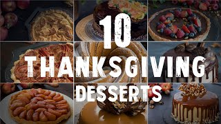 10 Thanksgiving Desserts by Home Cooking Adventure