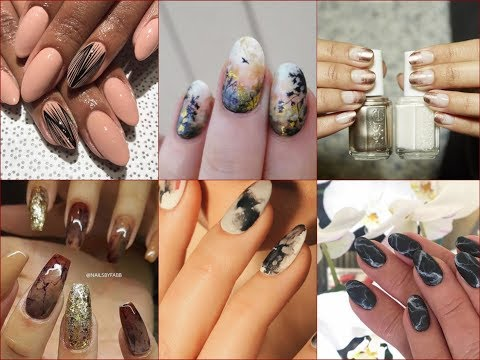 Top-20 Best Nail Art Trends  and  Nail Polish Colors for Fall 2017