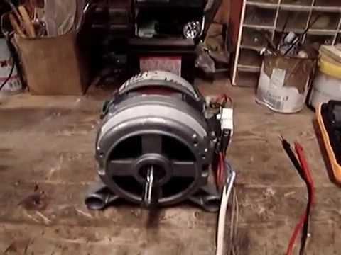 video tutorial: spiegazione su come collegare il motore della lavatrice