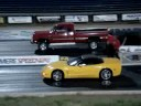 Dodge diesel vs. Corvette