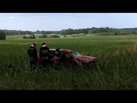 Wideo: Wypadek audi pod Pieszkowem