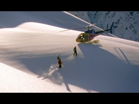 skiing - Watch the Full Episode: http://goo.gl/L0R6N Haines, Alaska for professional skiers is considered The Dream Trip. Big mountain skiers Daron Rahlves and Henrik...