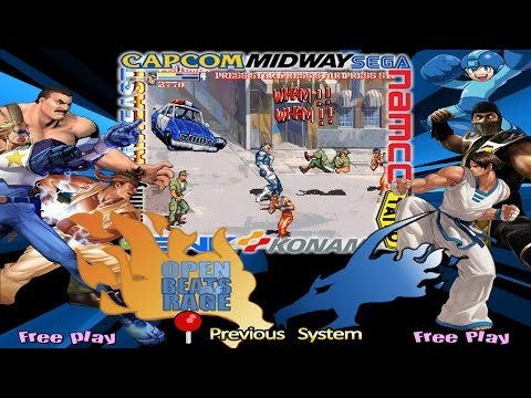 OpenBOR A to Z - Hyperspin Arcade - Beat em' Up Fighting Games