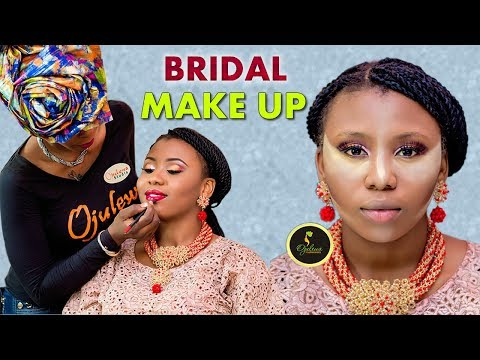BRIDAL MAKEUP Tutorial - Step By Step |Foundation, Highlights, Contours, Face Baking | Etc
