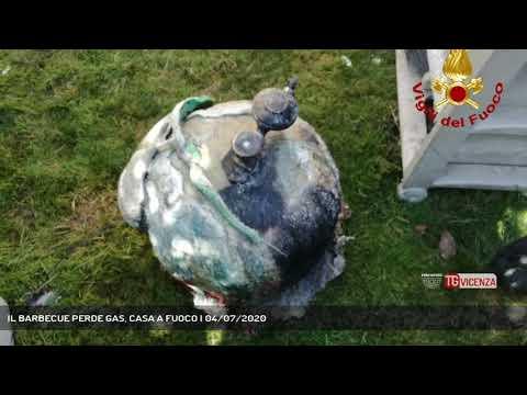 IL BARBECUE PERDE GAS, CASA A FUOCO | 04/07/2020