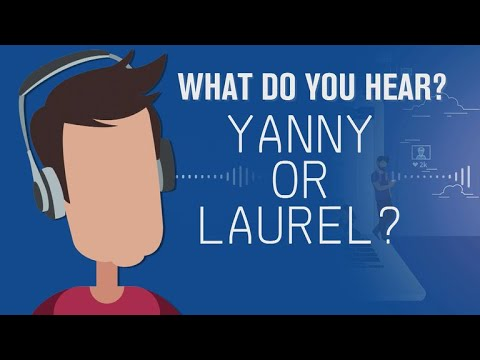 Yanny or Laurel: Which do you hear?